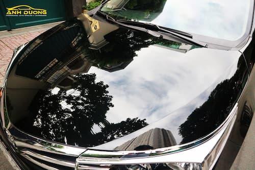 Đánh bóng tẩy ố kính xe ô tô tại Ánh Dương TPHCM
