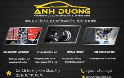 Ánh Dương Detailing -Trung tâm chăm sóc xe hơi chuyên nghiệp Q8, TPHCM