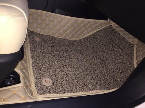 Lắp đặt thảm lót sàn 6D cho xe ô tô