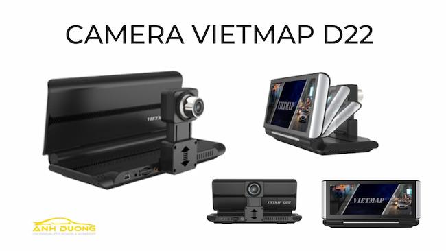 Camera hành trình VietMap D22 - Trợ lý lái xe ô tô đa năng