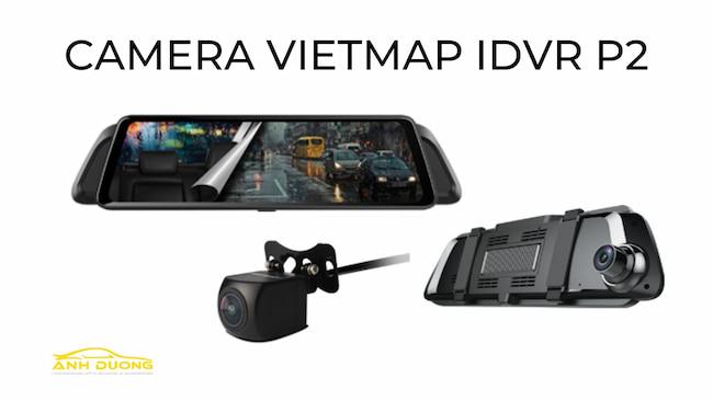 Camera hành trình gắn gương ô tô Vietmap IDVR P2 tại TPHCM
