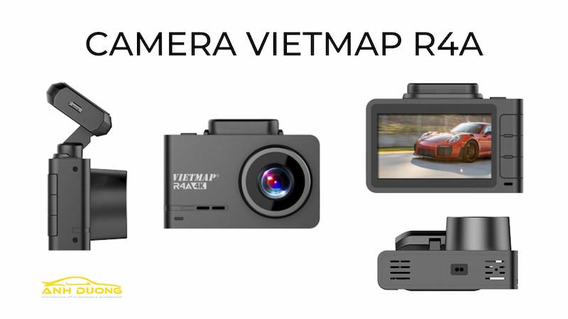 Camera Vietmap R4A cảnh báo giao thông gắn kính lái cho xe ô tô